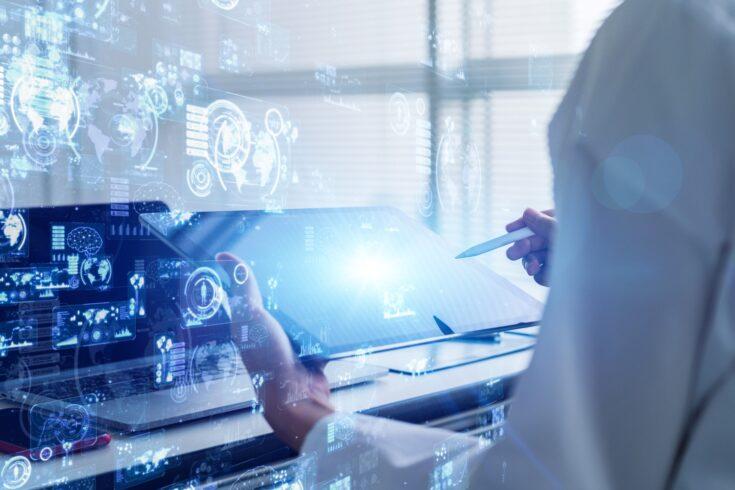 Medical technology screen