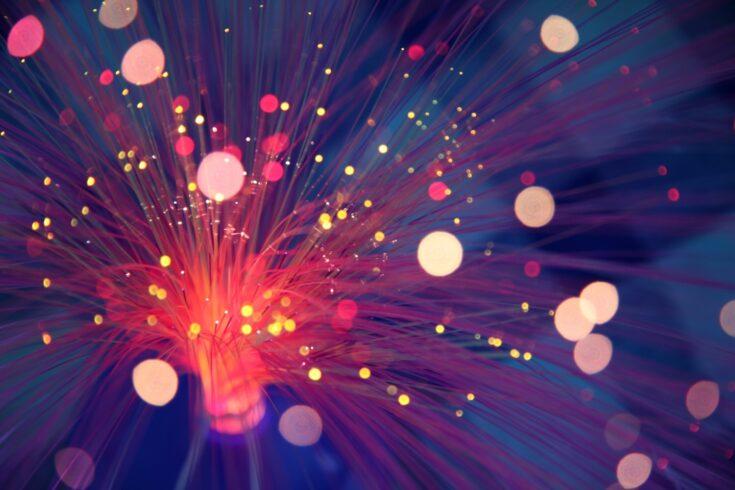Fibre optic lights