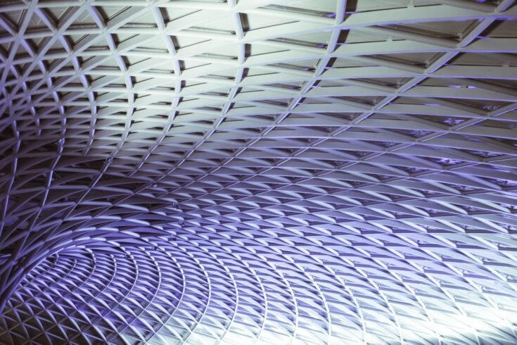 Roof of Kings Cross Station
