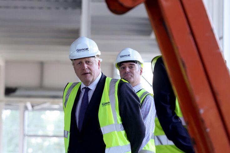Boris Johnson visits Vaccines Manufacturing Innovation Centre