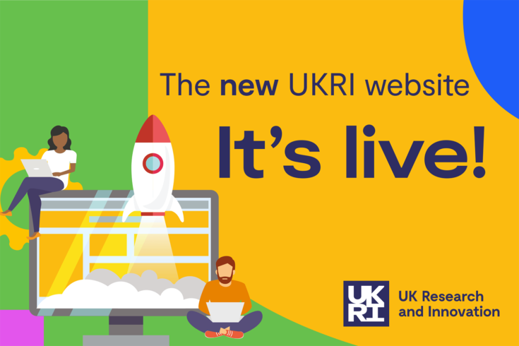 It's live - website launch illustration
