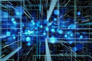Quantum technology concept art