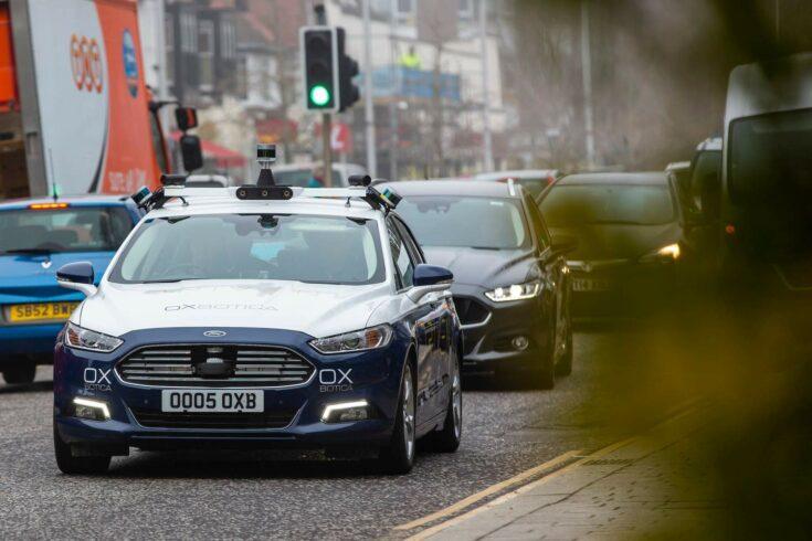 Autonomous car from Oxbotica Technologies. Credit: Innovate UK.