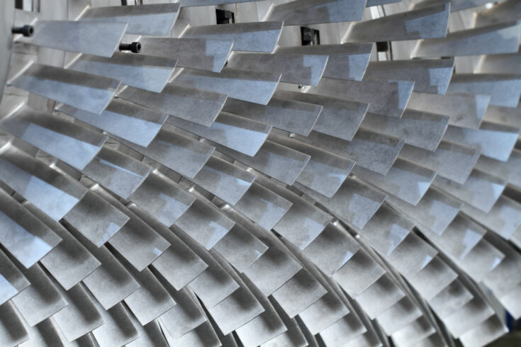 Abstract metal structure