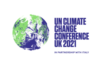 Logo for the UN Climate Change Conference UK 2021