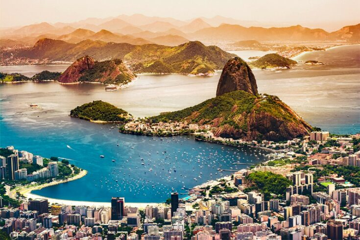 Brazil from the air