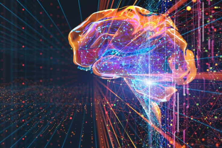 Digital brain connections, artificial intelligence