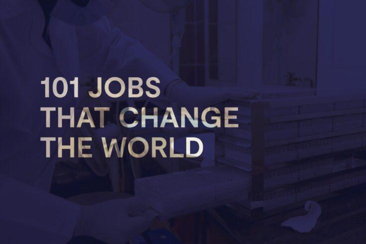 101 jobs that change the world