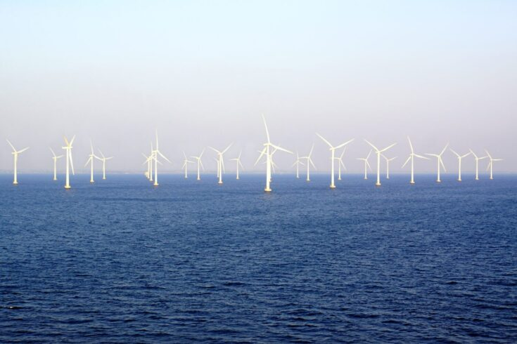 An offshore wind farm South of Malmö, Sweden