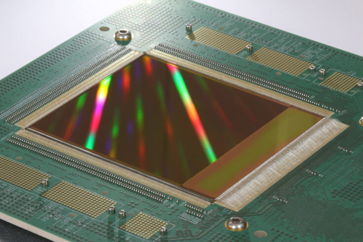 An example large area sensor developed at STFC.