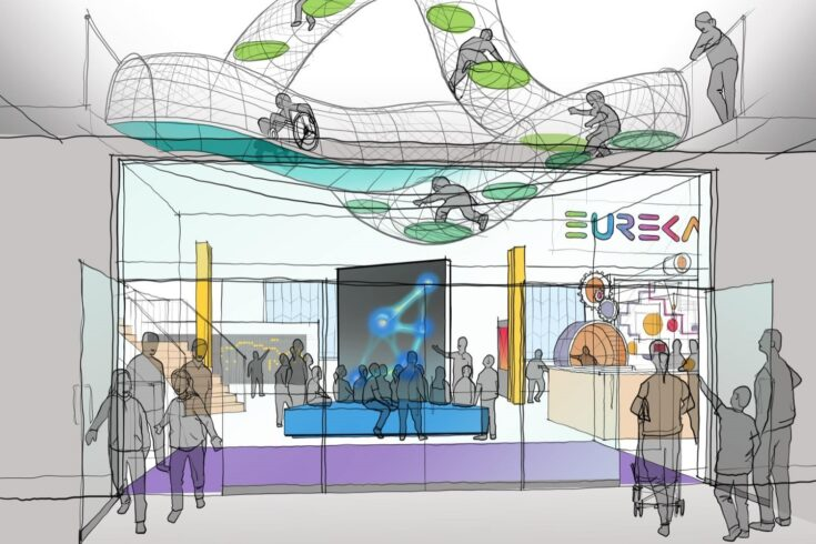 Artist's impression of the new Eureka! Science + Discovery Centre